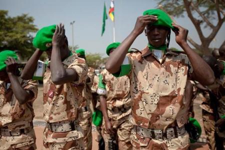 Soldats de la MISCA (source : http://rpdefense.over-blog.com/)