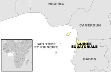 Guinée équatoriale_Carte