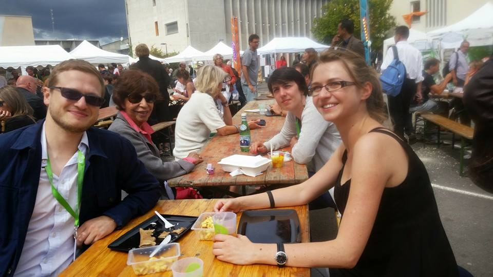 Alexis Prokopiev, Cécilia Joxe, Anne Rio, Anna Garmash (g. à d.). Photo : Françoise Diehlmann