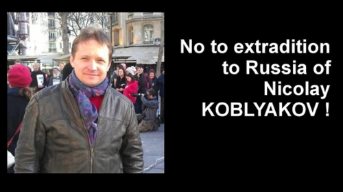 No extradition to Russia of Nikolay Kobliakov. Source : Russie-Libertés