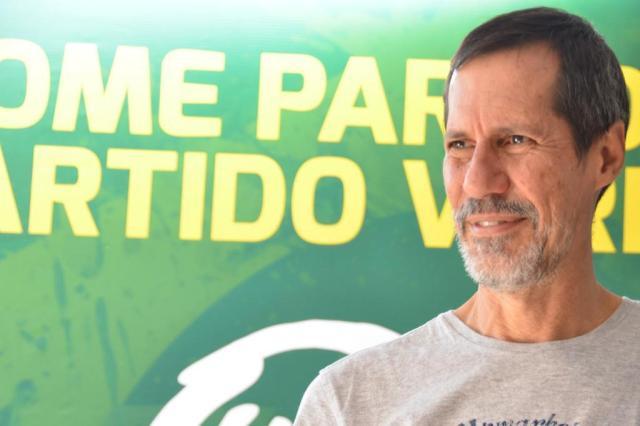 Eduardo Jorge, candidat à l'élection présidentielle du Parti vert brésilien