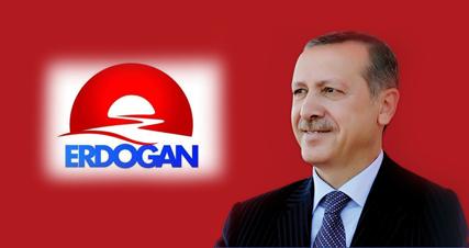 Affiche de campagne de Recep Tayyip Erdogan