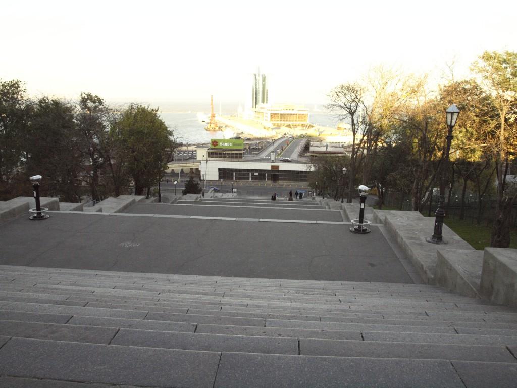 Escaliers Potemkine à Odessa. Crédits : Anne Rio