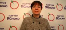 Olga Tsepilova, leader du parti Yabloko-Green Russia